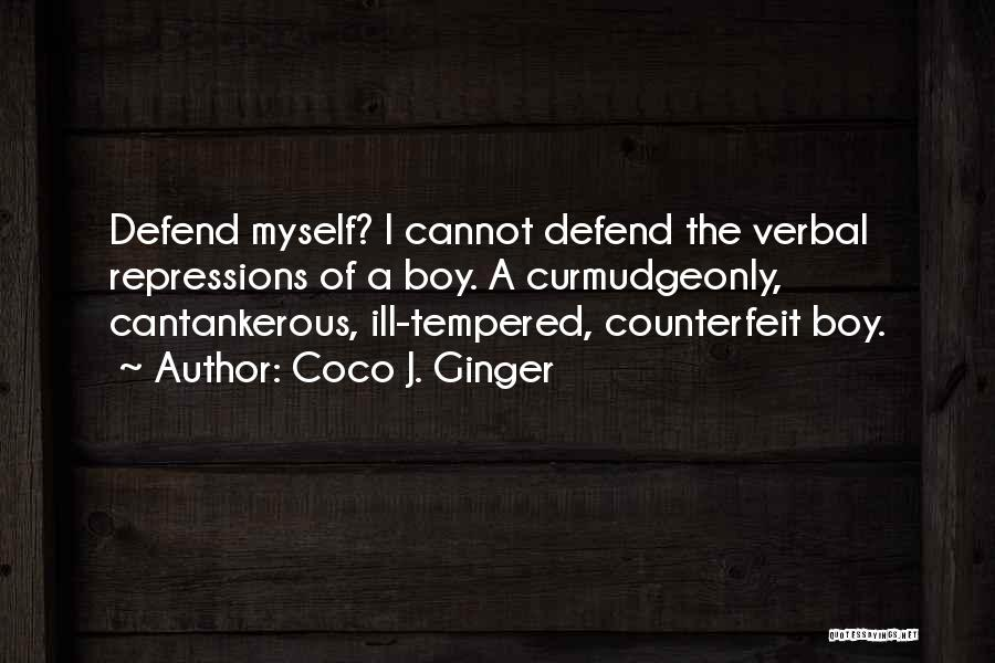 Counterfeit Quotes By Coco J. Ginger