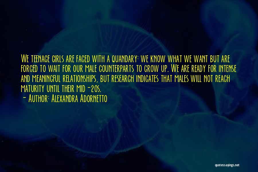 Counterparts Quotes By Alexandra Adornetto