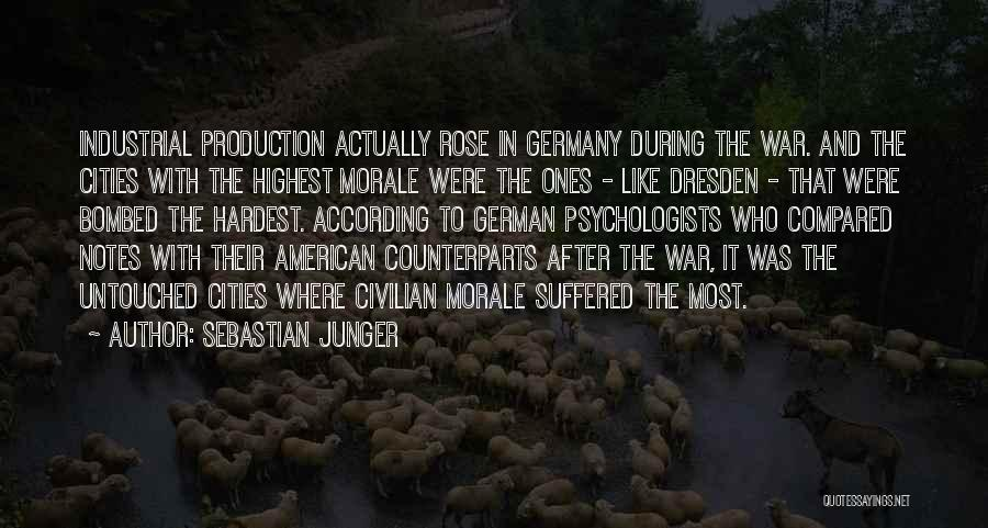 Counterparts Quotes By Sebastian Junger