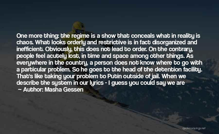 Country Lyrics And Quotes By Masha Gessen