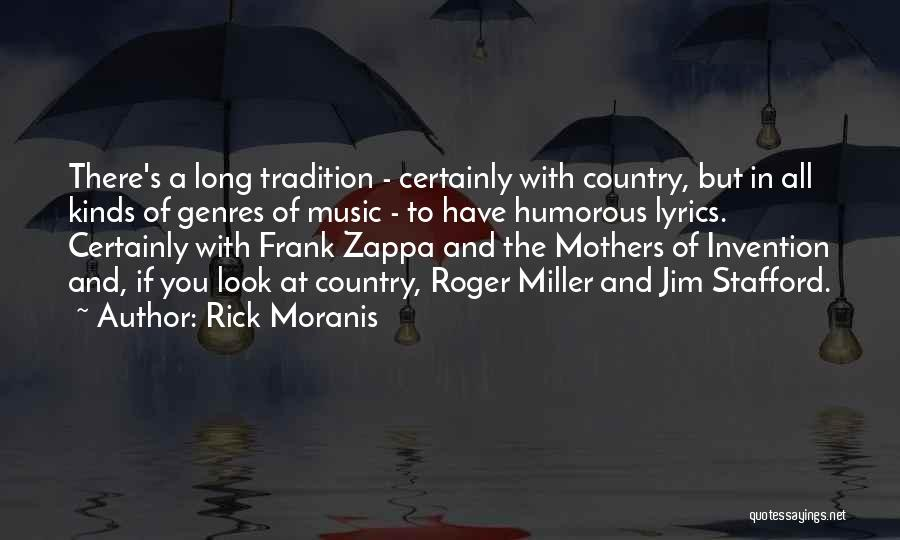 Country Lyrics And Quotes By Rick Moranis
