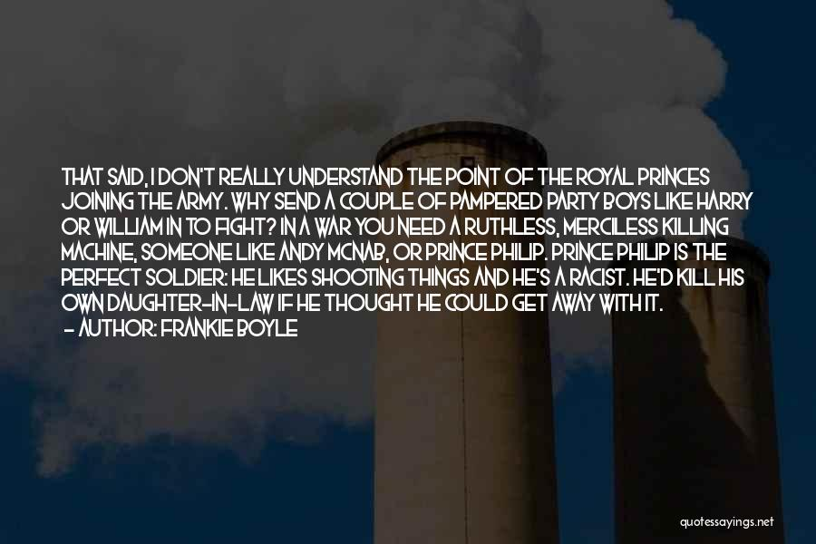 Couple Shooting Quotes By Frankie Boyle