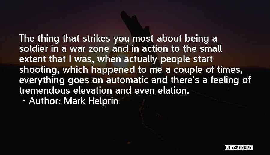 Couple Shooting Quotes By Mark Helprin