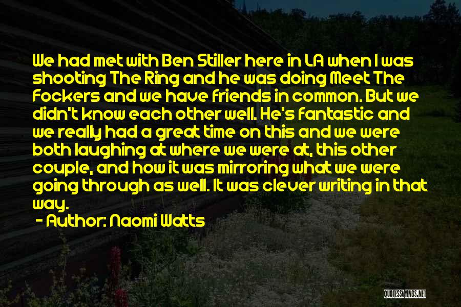 Couple Shooting Quotes By Naomi Watts