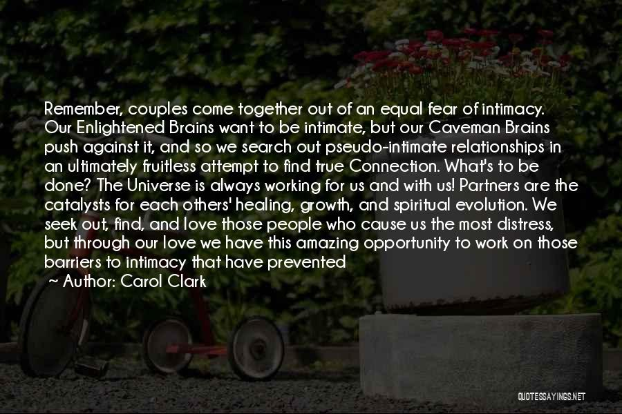 Couples That Work Together Quotes By Carol Clark