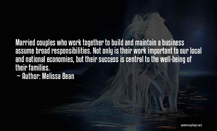 Couples That Work Together Quotes By Melissa Bean