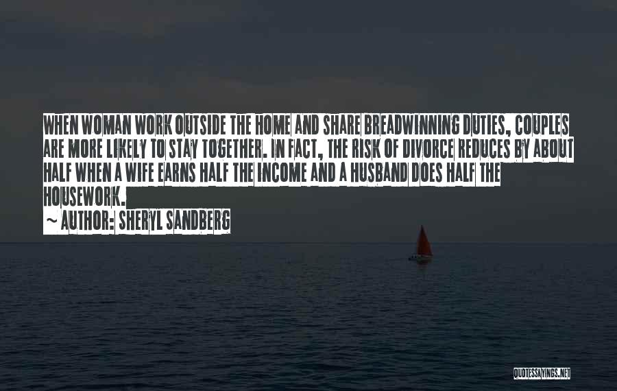 Couples That Work Together Quotes By Sheryl Sandberg