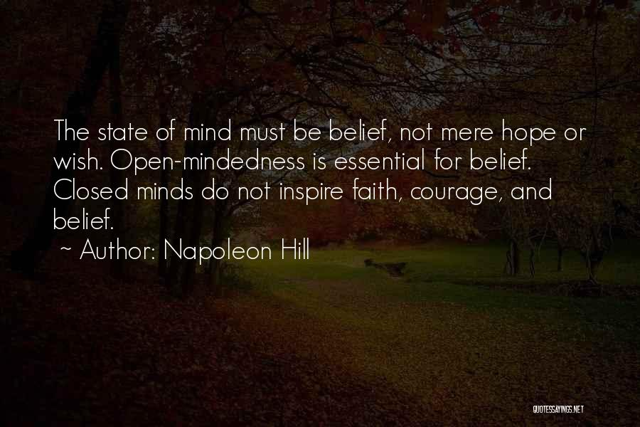 Courage Faith And Hope Quotes By Napoleon Hill
