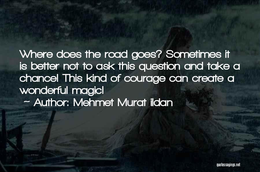 Courage To Create Quotes By Mehmet Murat Ildan