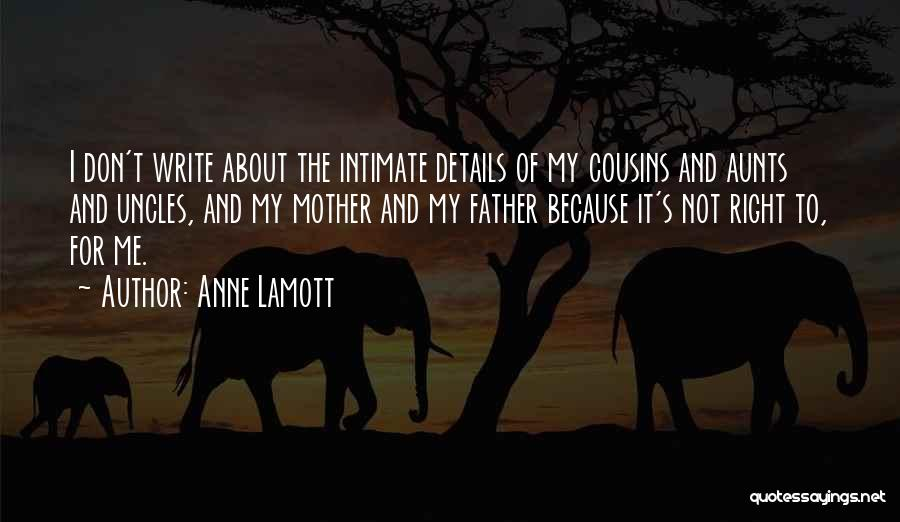 Cousin Quotes By Anne Lamott