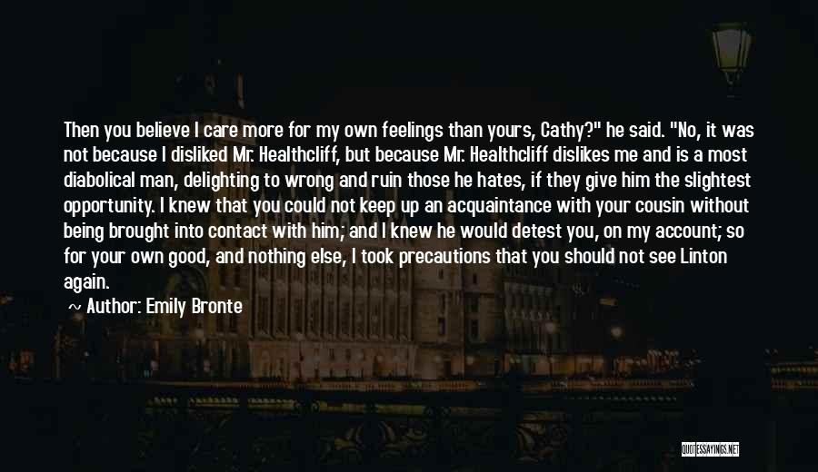 Cousin Quotes By Emily Bronte