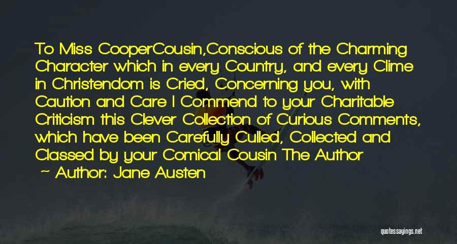 Cousin Quotes By Jane Austen