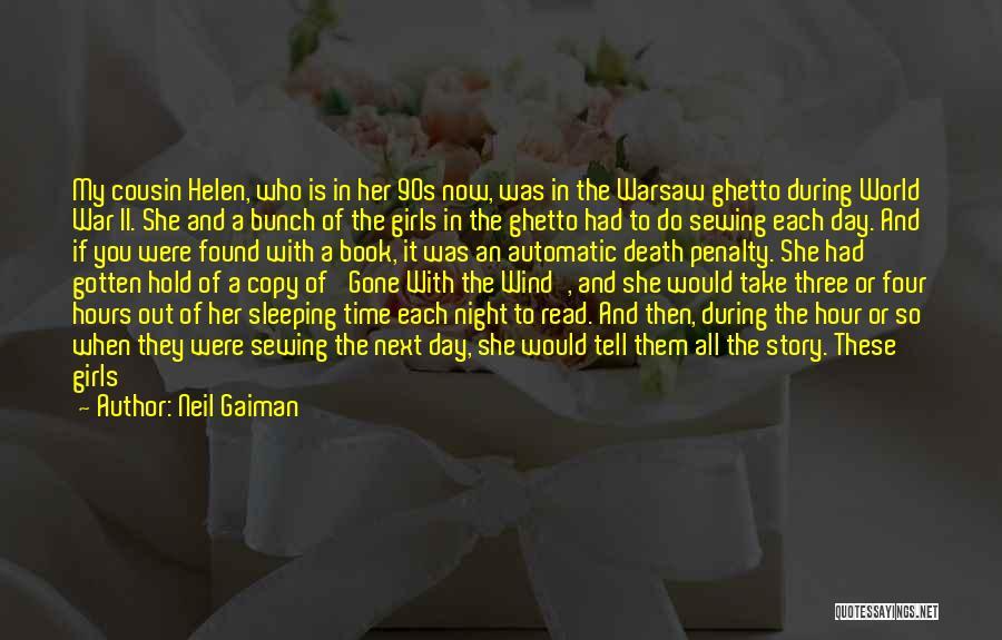 Cousin Quotes By Neil Gaiman