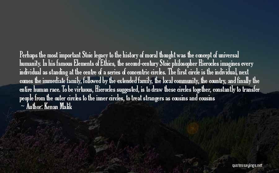 Cousins As Sisters Quotes By Kenan Malik