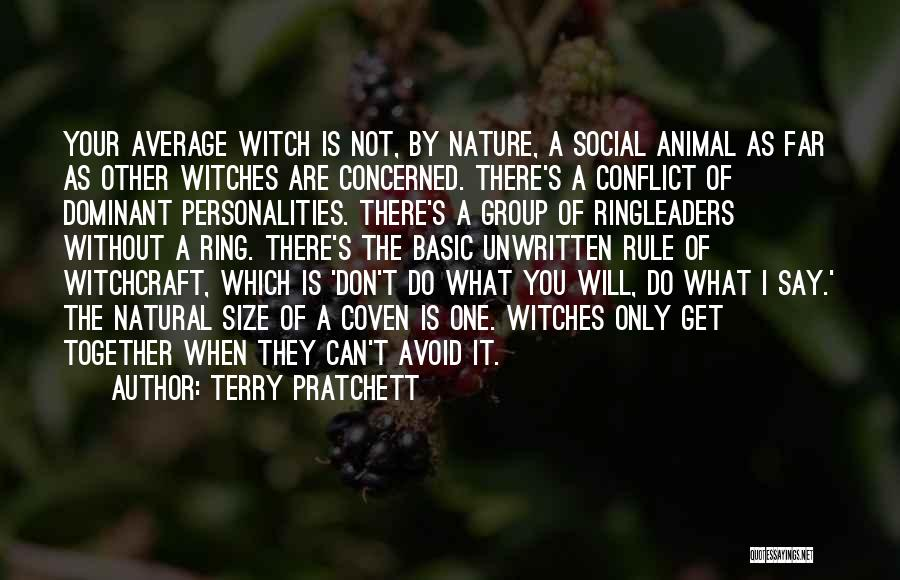 Coven Witch Quotes By Terry Pratchett