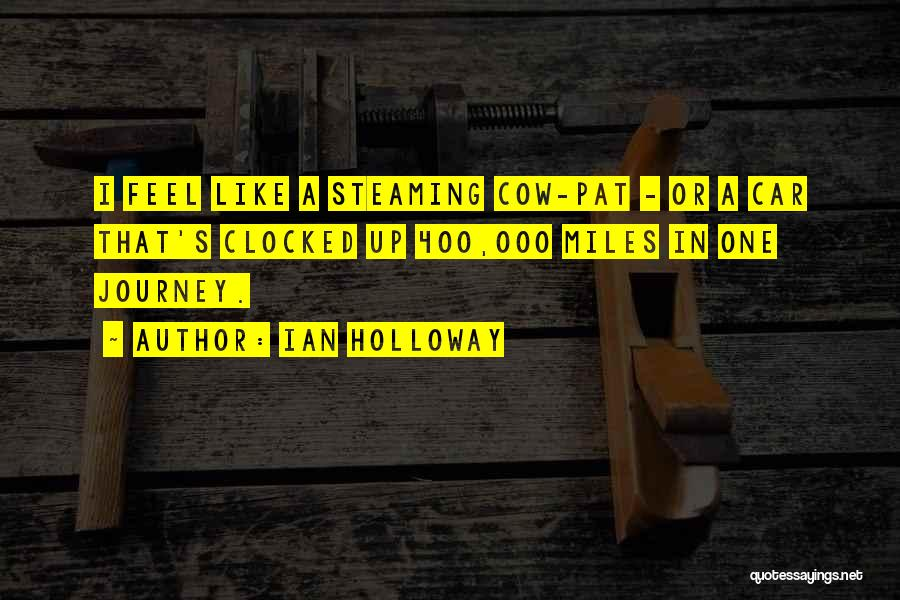 Cows Quotes By Ian Holloway