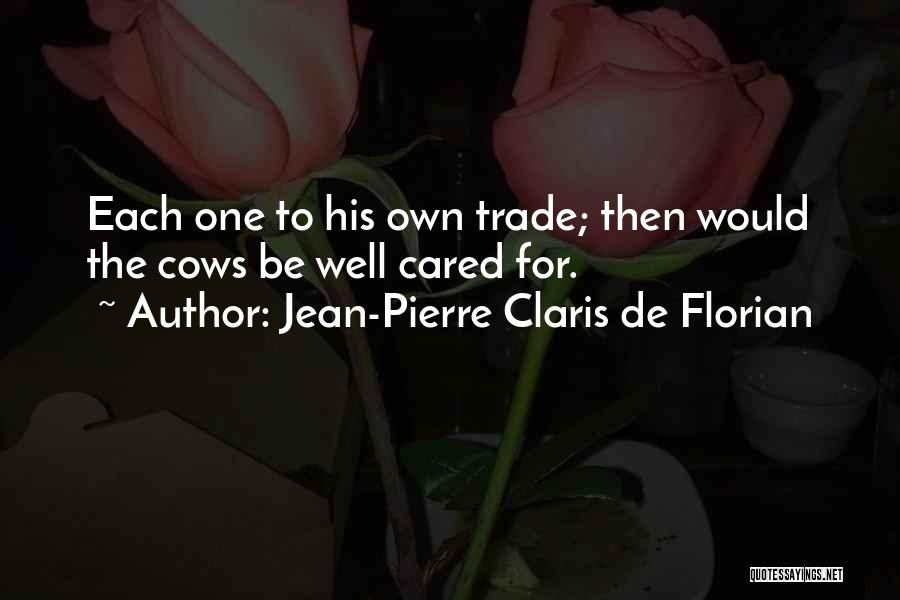 Cows Quotes By Jean-Pierre Claris De Florian