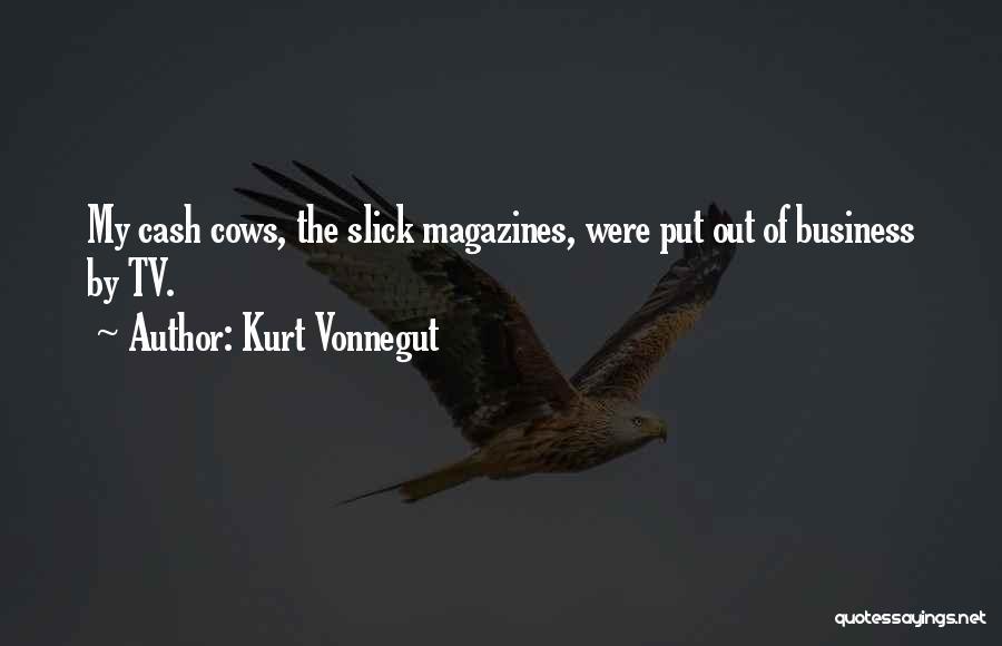 Cows Quotes By Kurt Vonnegut