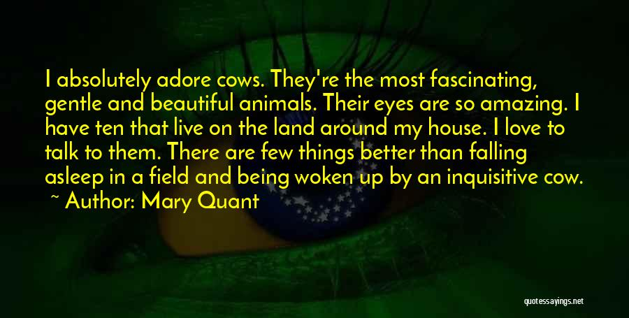 Cows Quotes By Mary Quant