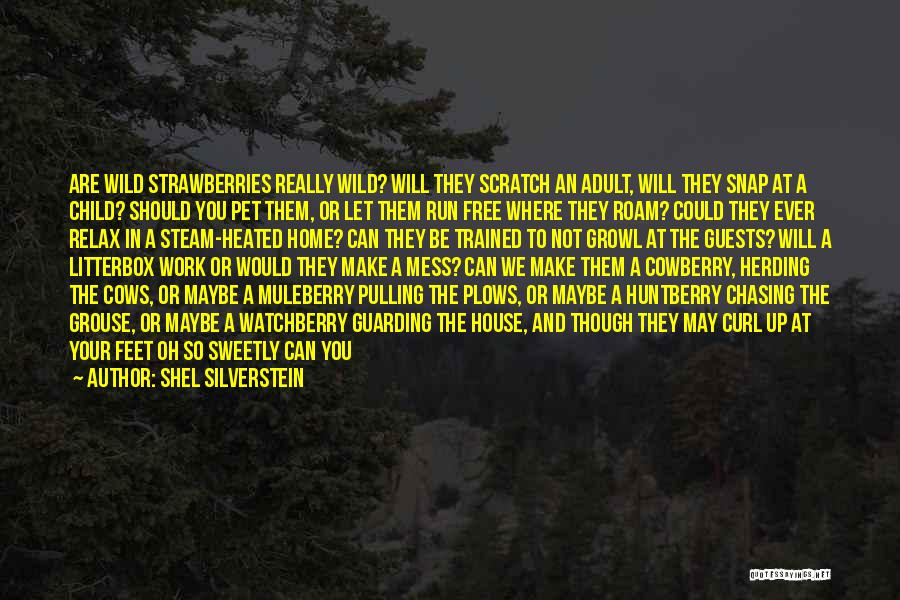 Cows Quotes By Shel Silverstein