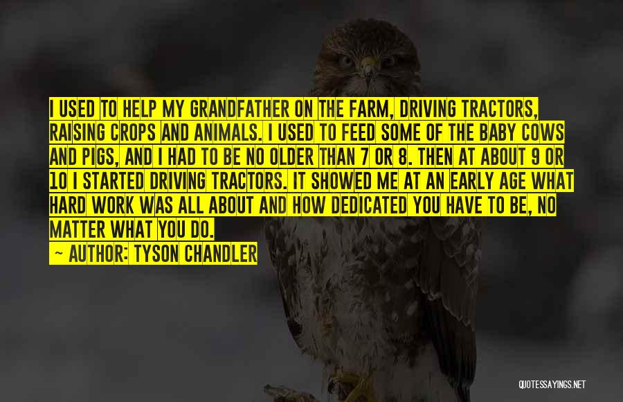 Cows Quotes By Tyson Chandler