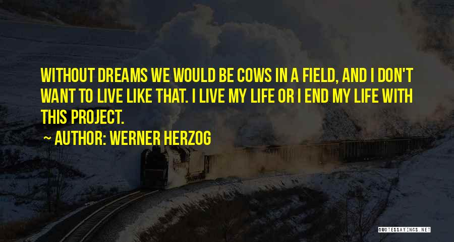 Cows Quotes By Werner Herzog
