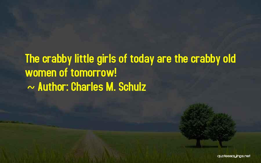 Crabby Quotes By Charles M. Schulz