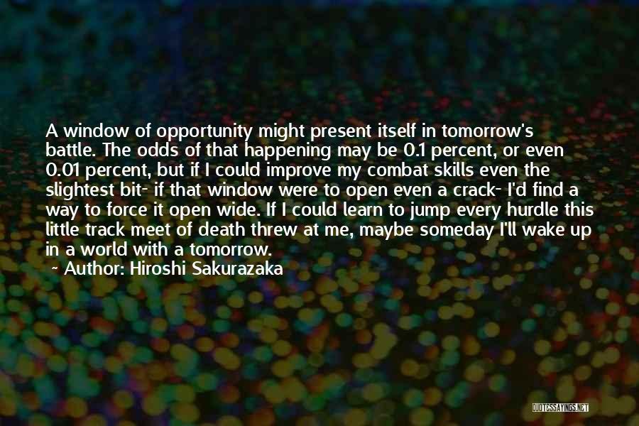 Crack Me Up Quotes By Hiroshi Sakurazaka