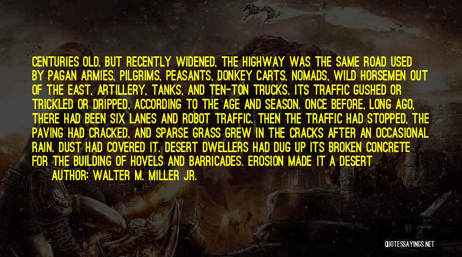Cracks In The Road Quotes By Walter M. Miller Jr.