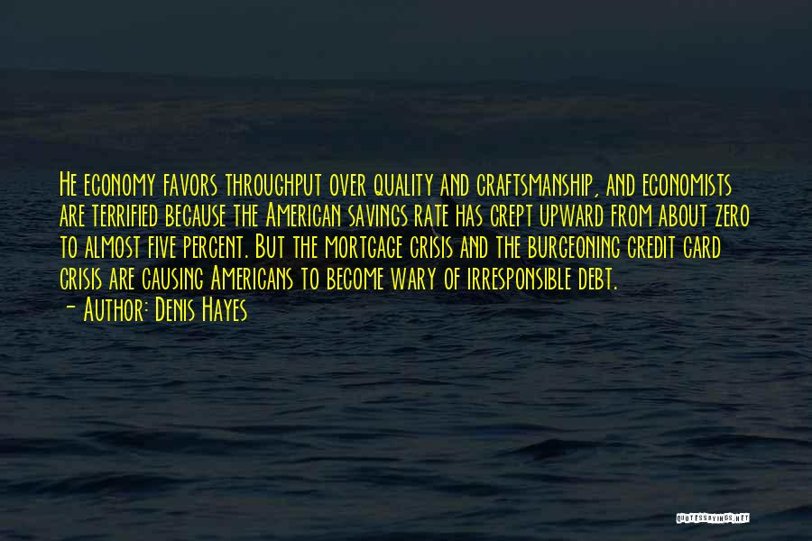 Craftsmanship Quotes By Denis Hayes