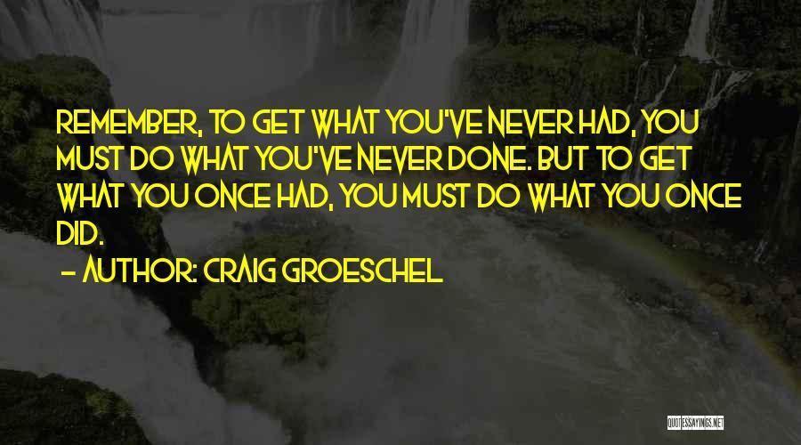 Craig Groeschel Quotes 1412830