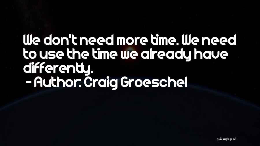 Craig Groeschel Quotes 222647