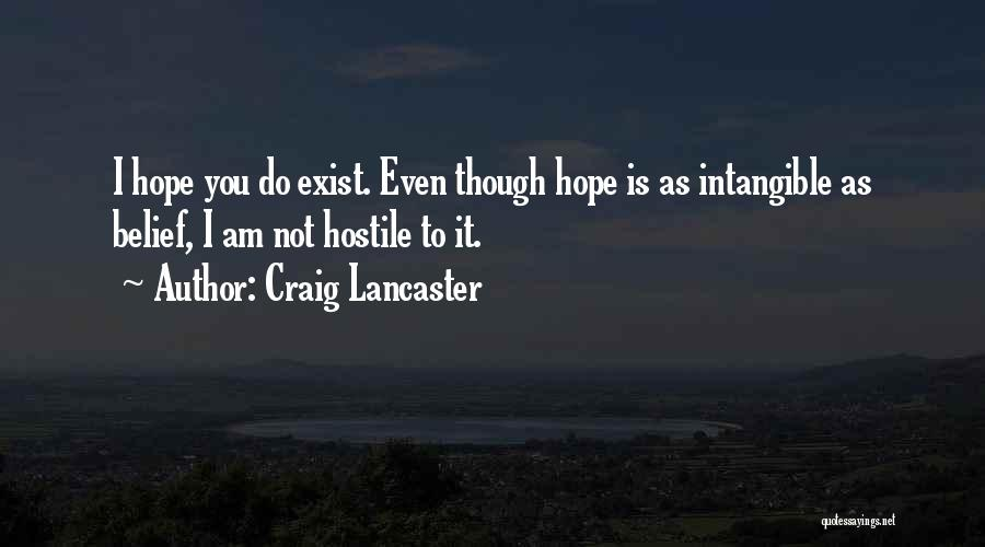 Craig Lancaster Quotes 1532153