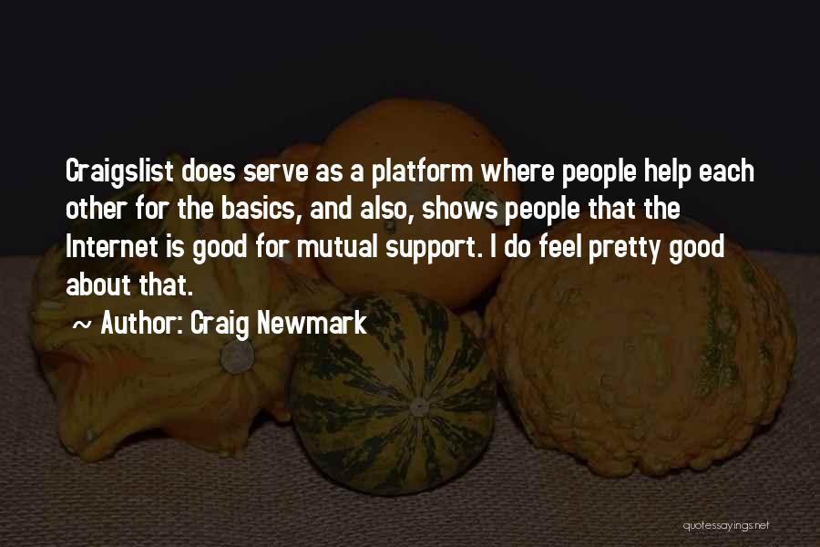 Craig Newmark Quotes 1087212