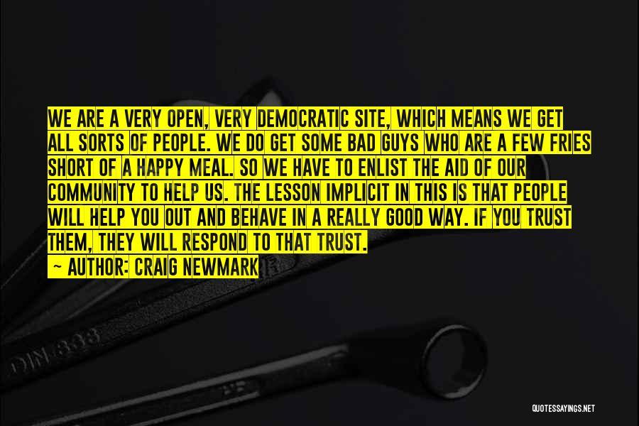 Craig Newmark Quotes 1151963