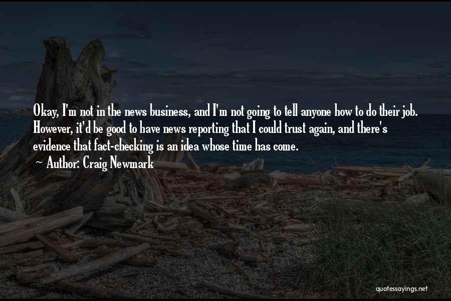 Craig Newmark Quotes 403436