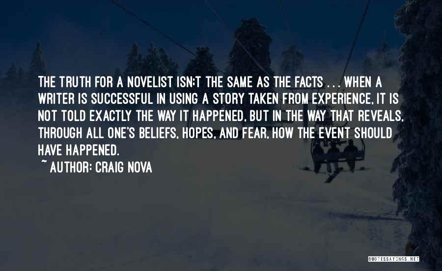 Craig Nova Quotes 1781550