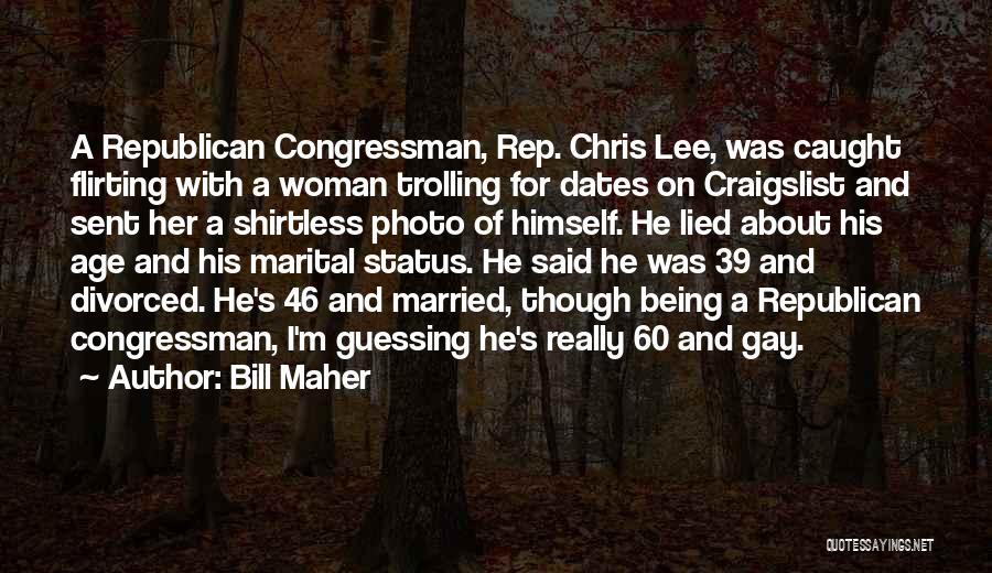Craigslist Quotes By Bill Maher