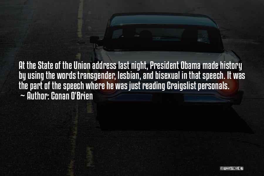 Craigslist Quotes By Conan O'Brien
