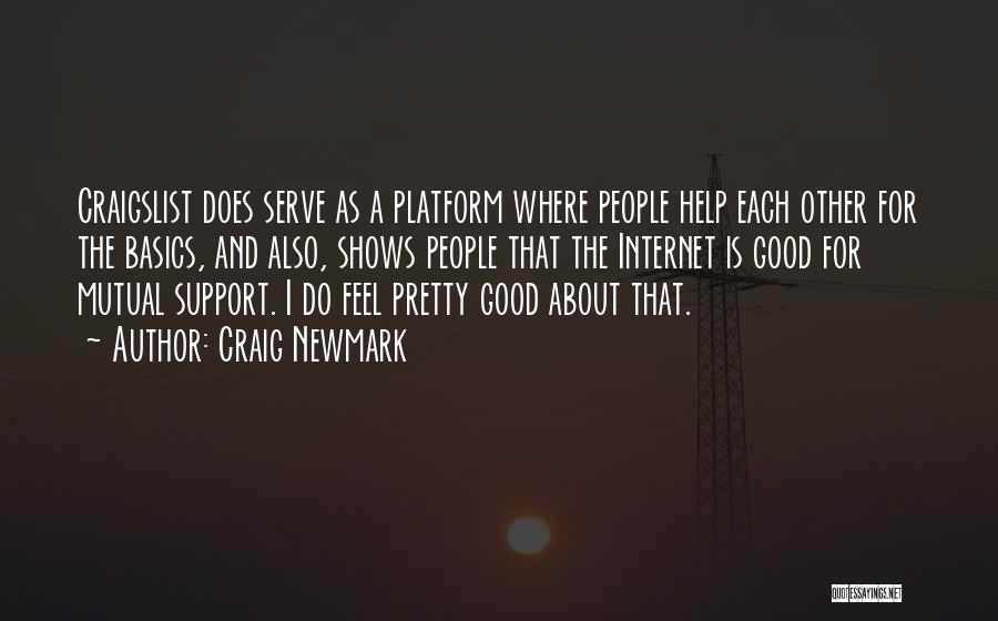 Craigslist Quotes By Craig Newmark