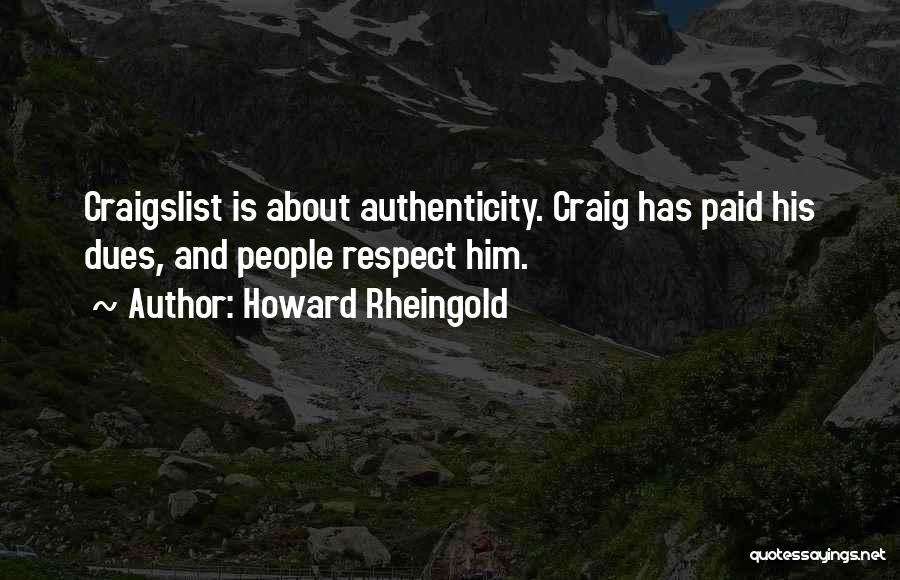 Craigslist Quotes By Howard Rheingold