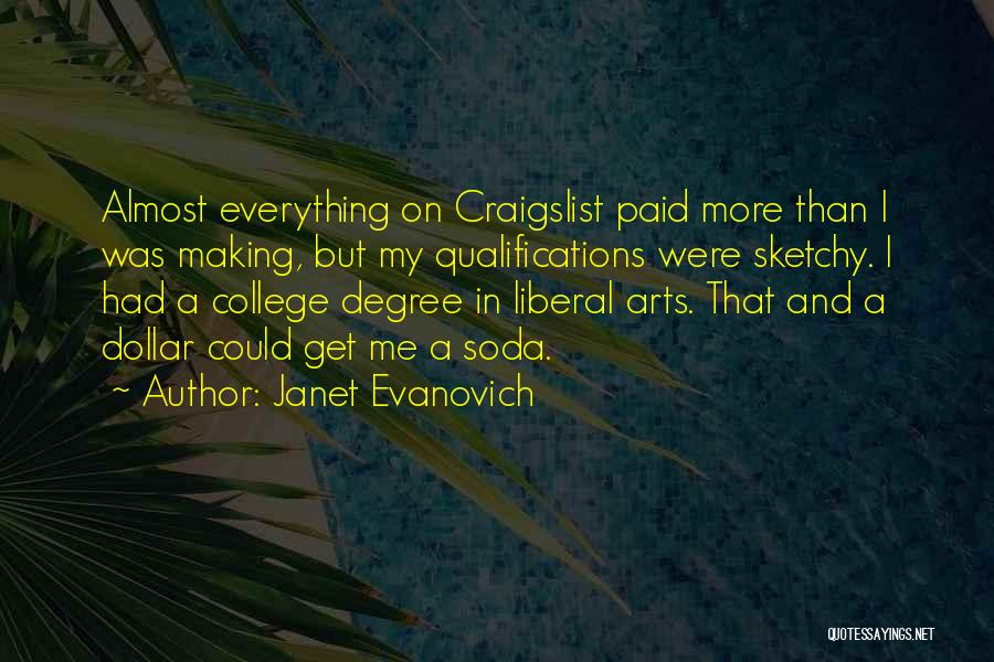 Craigslist Quotes By Janet Evanovich