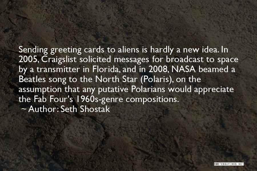 Craigslist Quotes By Seth Shostak