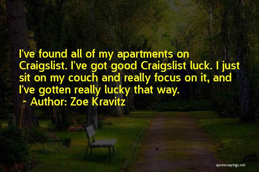 Craigslist Quotes By Zoe Kravitz
