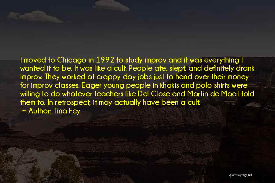 Crappy Day Quotes By Tina Fey