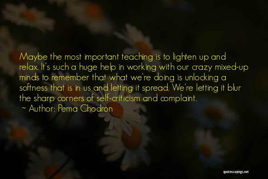 Crazy Minds Quotes By Pema Chodron
