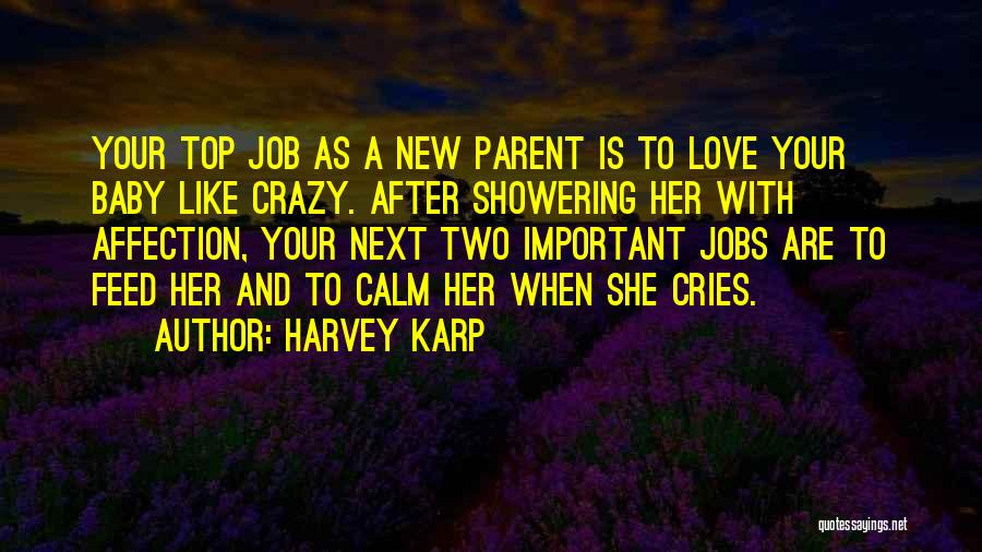 Crazy Things We Do For Love Quotes By Harvey Karp