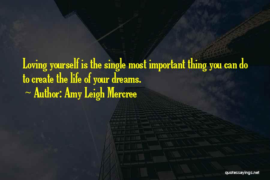 Create Your Dreams Quotes By Amy Leigh Mercree