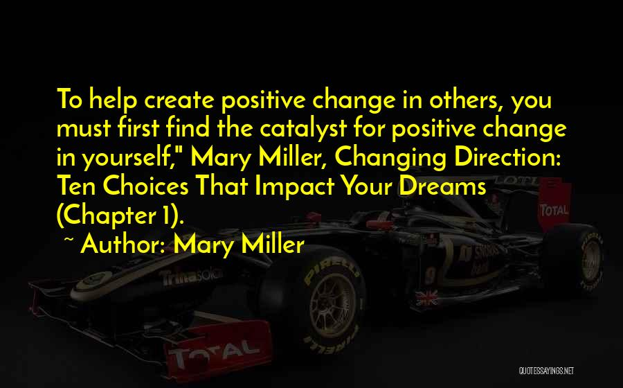 Create Your Dreams Quotes By Mary Miller