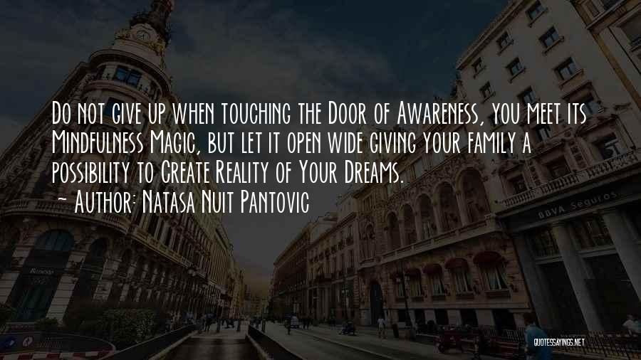 Create Your Dreams Quotes By Natasa Nuit Pantovic